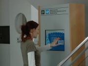 Infoterminal im Wellenbad in Sankt Peter ORding