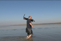 Dreharbeiten im Nationalpark Wattenmeer